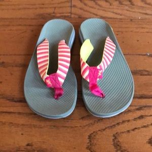Chaco Flip Flops Size 8
